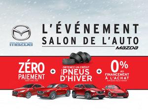 L'événement Salon de l'auto Mazda