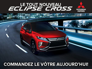 Le tout nouveau Mitsubishi Eclipse Cross