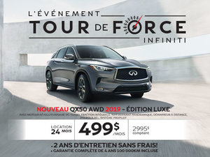 QX50 AWD 2019 édition LUXE