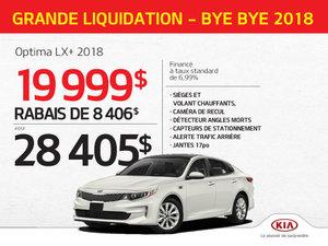 Achetez l'Optima LX + 2018