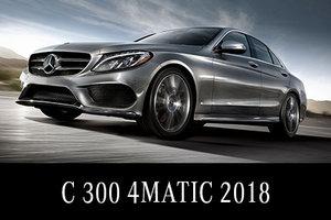 Solde de démos C 300 2018 : Location 45 mois 398$/mois 3495$ comptant