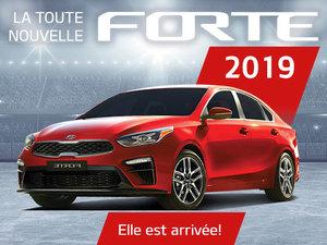 La toute nouvelle Kia FORTE 2019