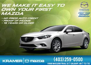 1st-time Mazda Owner Program from Kramer Mazda