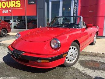 Alfa Romeo Spider 1987 Quadrifoglio 95% PIÈCE D'ORIGINE MÉCANIQUE A1