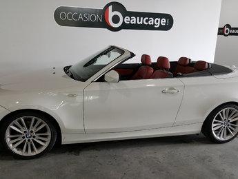 BMW 1 Series 2011 128i, cuir rouge parfait état, sièges chauffants
