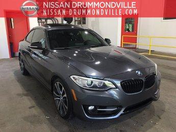 BMW 228i 2014 TOIT OUVRANT + INTÉRIEUR EN CUIR!!!