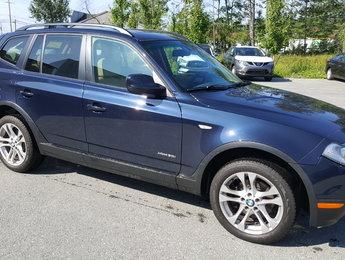 BMW X3 2010 30i, cuir, toit ouvrant, volant chauffant