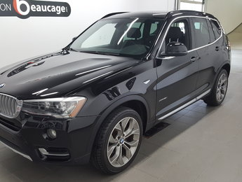 BMW X3 2015 XDrive28i, cuir, toit panoramique, hitch