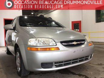 Chevrolet Aveo 2005 LT - DÉMARREUR - BAS MILLAGE!!