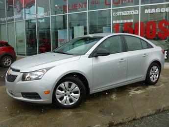 Chevrolet Cruze 2013 LS SEULEMENT 16 000KM ! AUTOMATIQUE