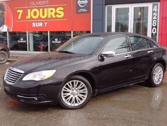 Chrysler 200 2013 LIMITED / V6 3.6L / MAG / CUIR / SIÈGES ELECTRIQUE