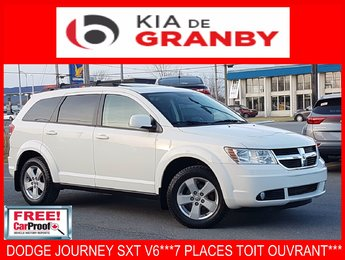 Dodge Journey 2010 SXT***V6 7 PLACES+ TOIT***