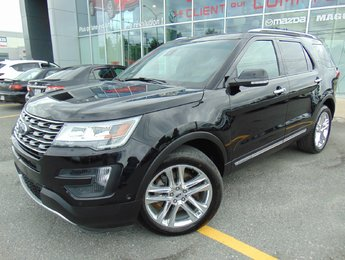 Ford Explorer 2016 Limited awd 36000KM CUIR NAVIGATION MAGS 20
