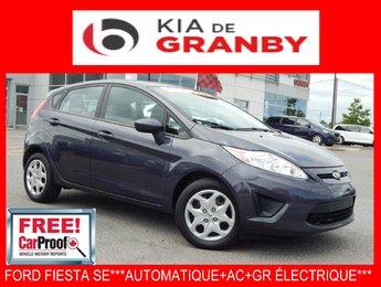 Ford Fiesta 2013 SE***AUTO+AC+GR ÉLECTRIQUE