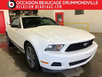 Ford Mustang 2012 V6 PREMIUM- AUTOMATIQUE- CONVERTIBLE- CUIR!!!
