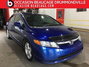 Honda Civic Sdn 2007 LX MANUELLE - DÉMARREUR - AUBAINE!!