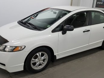Honda Civic Sdn 2009 DX-G, régulateur, A/C, vitres électriques