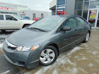 Honda Civic Sdn 2010 SEULEMENT 104 000KM GROUPE ELECTRIQUE