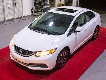 Honda Civic Sdn 2013 EX *Sièges chauffants + Camera + Toit*