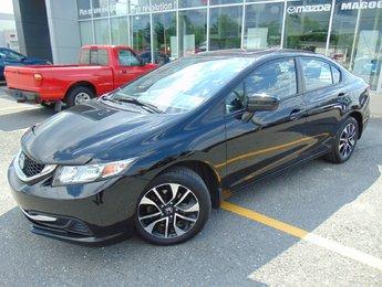 Honda Civic Sedan 2015 EX TOIT OUVRANT SIEGES CHAUFFANTS BLUETOOTH