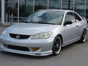 Honda Civic 2004 COUPE*MANUELLE*AC*GR ELEC*DROP 1,5*SUB AVEC AMPLIE