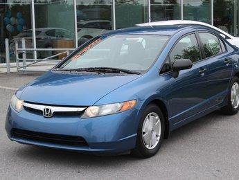 Honda Civic 2008 DX-G*AUTO*4 PORTES*AC*CRUISE*GR ELEC*CD MP3*AUX