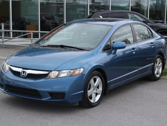 Honda Civic 2010 SPORT*MANUELLE*AC*CRUISE*TOIT*GR ELEC*USB*