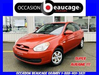 Hyundai Accent 2009 BASE + PNEUS HIVER PRESQUE NEUFS + IMPECCABLE