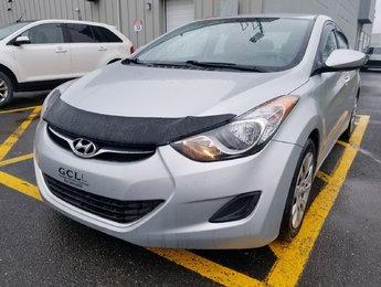 Hyundai Elantra 2013 GL- AUTOMATIQUE- DÉMARREUR- JAMAIS ACCIDENTÉ!!