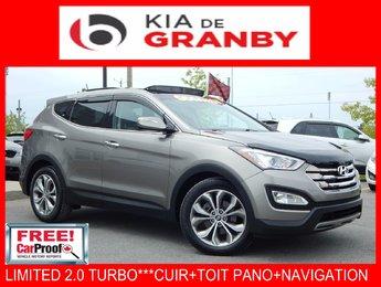 Hyundai Santa Fe 2013 LIMITED**2.0 T+CUIR+TOIT+NAVI WOW***