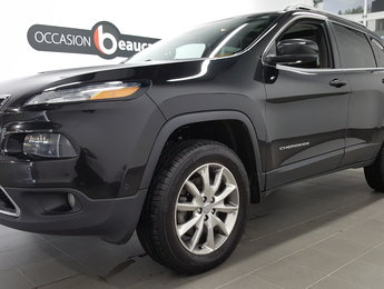 Jeep Cherokee 2014 LIMITED V6, activedrive, groupe remorquage