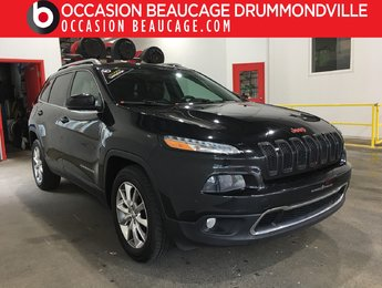 Jeep Cherokee 2014 LIMITED V6 AWD - NAVIGATION+TOIT+CUIR+DÉMARREUR!!
