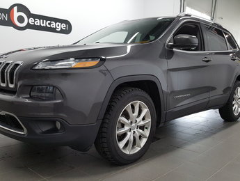 Jeep Cherokee 2015 LIMITED, cuir, navigation, hitch
