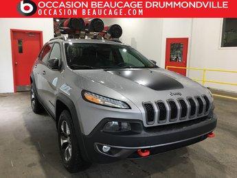 Jeep Cherokee 2015 V6-TRAILHAWK 4X4-NAVIGATION+CUIR/TISSUS+DÉMARREUR!