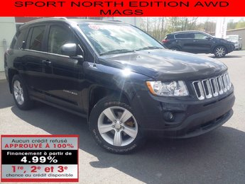 Jeep Compass 2011 SPORT NORTH EDITION AWD MAGS