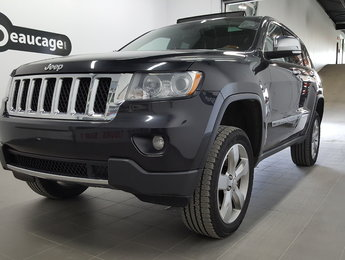 Jeep Grand Cherokee 2011 Overland, toit panoramique, navigation