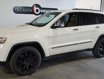 Jeep Grand Cherokee 2011 Overland, groupe remorquage, toit ouvrant, navi