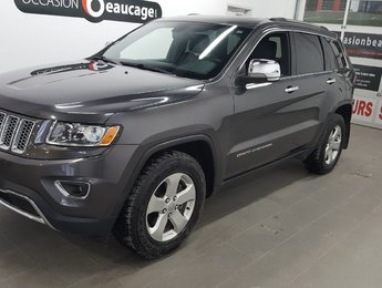 Jeep Grand Cherokee 2014 LIMITED, cuir, toit ouvrant, écran 8
