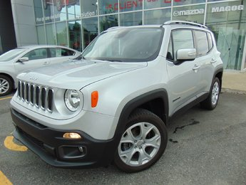 Jeep Renegade 2015 18 000KM LIMITED TOIT RETRACTABLE 4X4 CUIR