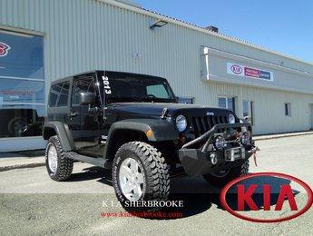 Jeep Wrangler 2013 Sport ** CARPROOF CLEAN / TREUIL **