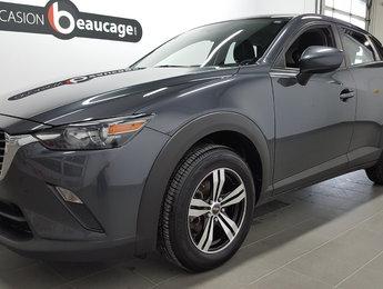 Mazda CX-3 2016 GX, régulateur de vitesse, bluetooth