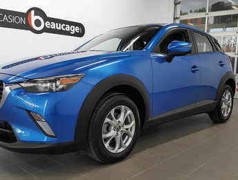Mazda CX-3 2016 GS, groupe luxe, sièges cuir, toit ouvrant