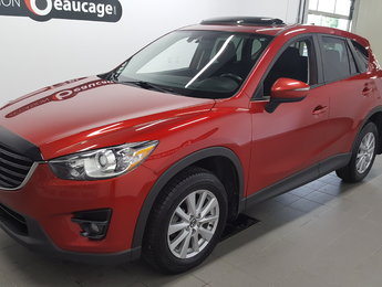 Mazda CX-5 2016 GS AWD, navigation, toit ouvrant, caméra recul
