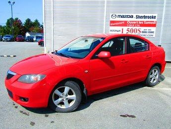 Mazda Mazda3 2007 150000KM GROUPE ÉLECTRIQUE CLIMATISEUR AUTOMATIQUE