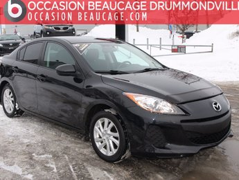 Mazda Mazda3 2012 GX A/C - DÉMARREUR - BAS MILLAGE!!