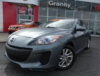 Mazda Mazda3 2012 GS-SKY/HATCHBACK/TOIT OUVRANT/AIR CLIMATISÉ/MAGS