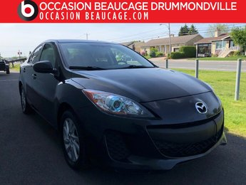 Mazda Mazda3 2012 GS-MANUELLE 6 VITESSES- BAS MILLAGE!