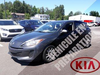 Mazda Mazda3 2012 GX *A/C*BLUETOOTH*MAGS*AUDIO AU VOLANT*