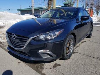 Mazda Mazda3 2014 GS-SPORT -SKY- MANUELLE- CAMÉRA- JAMAIS ACCIDENTÉ!