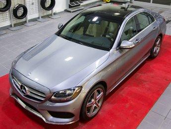 Mercedes-Benz C-Class 2015 C300 4matic *Head-Up Display + Sport + Toit + GPS*